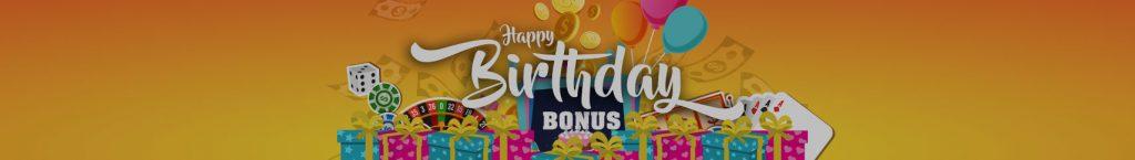 ハッピースターカジノ誕生日ボーナス